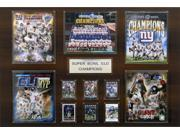C & I Collectables 2436SB46 NFL 24 X 36 New York Giants Super Bowl XLVI Champions 24 x 36 Plaque 9SIA00Y0Z77835