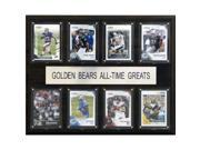C & I Collectables 1215ATGCALGB NCAA Football California Golden Bears All-Time Greats Plaque 9SIA00Y0Z78187