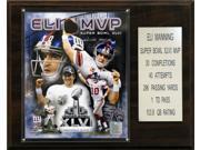 C & I Collectables 1215ELISB46MVP NFL 12 X 15 Eli Manning Super Bowl XLVI MVP New York Giants Player Plaque 9SIA00Y0Z78545