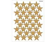 Teacher Created Resources 4212 Large Gold Foil Stars Stickers