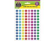Teacher Created Resources 6631 Mini Happy Face Sparkle Stickers Valu-Pak