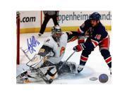 Steiner Sports MILLPHS008019 Ryan Miller Kick Save vs Sean Avery Signed 8x10 Photo