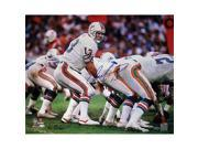 Steiner Sports MARIPHS016014 Dan Marino Miami Dolphins Home Jersey At The Line Of Scrimmage Horizontal 16x20 Photo - Signed by Ken Regan