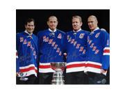 Steiner Sports RANGPHS016012 Mark Messier - Brian Leetch - Adam Graves - Mike Richter Multi Signed with Cup Horizontal 16x20 Photo with Years Insc. 9SIV06W6A08983