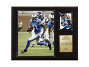 C & I Collectables 1215CALVINJ NFL Calvin Johnson Detroit Lions Player Plaque 9SIV06W2J53738
