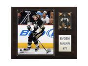 C & I Collectables 1215MALKIN NHL Evgeni Malkin Pittsburgh Penguins Player Plaque 9SIV06W2J55297