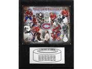 C & I Collectables 1215HABS24 NHL Montreal Canadiens 24 Time Stanley Cup Champs Champions Plaque 9SIV06W2J53337