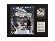 C & I Collectables 1215CROSBCUP NHL Sidney Crosby with Stanley Cup Pittsburgh Penguins Player Plaque 9SIV06W2J51598