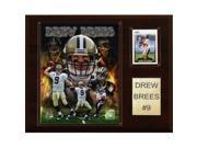 C & I Collectables 1215BREES NFL Drew Brees New Orleans Saints Player Plaque 9SIA00Y0Z82478