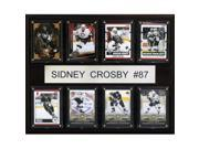C & I Collectables 1215CROSBY8C NHL Sidney Crosby Pittsburgh Penguins 8 Card Plaque 9SIV06W2J51655