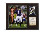C & I Collectables 1215FLACCO NFL Joe Flacco Baltimore Ravens Player Plaque 9SIV06W2J54713