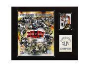 C & I Collectables 1215SB44GD NFL Saints Super Bowl XLIV Limited Edition Champions Plaque 9SIA00Y0Z81845
