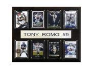 C & I Collectables 1215ROMO8C NFL Tony Romo Dallas Cowboys 8 Card Plaque 9SIV06W2J52438