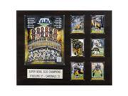 C & I Collectables 1620SB43 NFL Pittsburgh Steelers Super Bowl XLIII Champions Plaque 9SIV06W2J55289