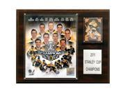 C & I Collectables 1215SC11BB NHL Boston Bruins NHL Boston Bruins 2010-2011 Stanley Cup Champions Plaque 9SIV06W2J53379