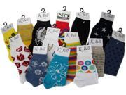 Bulk Buys K-BELL Assorted Socks, 9-11Irregular - Case of 180