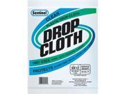 Gam Paint Brushes 9ft. x 12ft. Sentinel Clear Plastic Drop Cloths  DC90101