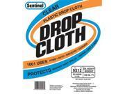 Gam Paint Brushes Sentinel Clear Plastic Drop Cloths  DC90295