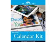Strathmore ST59-686 8.5 in. x 11 in. Inkjet Photo Calendar Kit