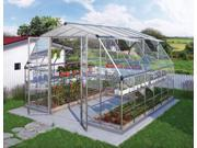 Palram HG5212 Americana 12x12 Silver Hobby Greenhouse