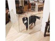 Carlson 1510HPW Flexi Extra-Tall Walk-Thru Gate with Pet Door