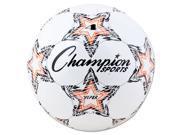 VIPER Soccer Ball Size 4 8 8 1 4 dia. White