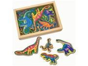 Melissa & Doug 476 Magnetic Wooden Dinosaurs 9SIV06W6B71017