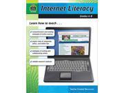 Teacher Created Resources 2768 Internet Literacy Grade 6-8