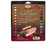 Heritage ASP24PT 24 Color Portrait Artist Soft Pastel Set 9SIA00Y0ZB4023
