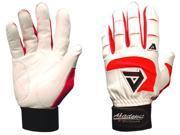 Akadema BTG475-XXL-Red Professional Batting Gloves