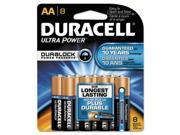 Quantum Alkaline Batteries with Duralock Power Preserve Technology AA 8/Pk