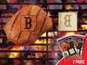 Fanmats 13174 MLB - Boston Red Sox  Fanbrand 2 Pack 9SIV06W2GR8826