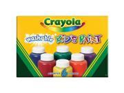Crayola 54-1204 Crayola Washable Kid's Paint 9SIA00Y1815681