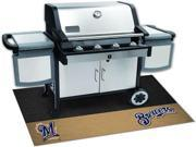 Fanmats 12159 MLB - Milwaukee Brewers Grill Mat 26 in. x 42 in.