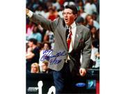 Tristar Productions I0000540 Van Chancellor Autographed Houston Comets 8x10 Photo Inscribed 4-Peat