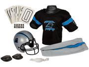 Franklin IF-FRA-15700F30-Y1 Carolina Panthers Deluxe Youth Uniform Set - Small