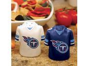 Memory Company MC-NFL-TTI-612 Tennessee Titans Ceramic Jersey Salt and Pepper Shakers