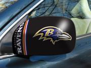 Fanmats 11868 NFL - 5.5 in. x8 in.  - NFL - Baltimore Ravens Small Mirror Cover