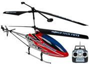 World Tech Toys 35975 Gyro Metal Sparrow 3.5CH Electric RTF RC Helicopter Over 2 Feet Long