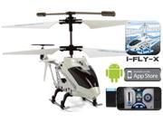 World Tech Toys 35846 iFly Heli Gyro 3.5CH Electric RTF RC Helicopter Controlled by iPhone and Android