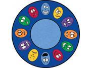 Learning Carpets CPR436 - Expressions Round Small