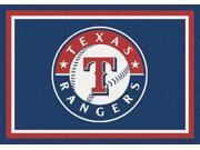 Milliken MI-4000020495 Texas Rangers 7 ft. 8 in. x 10 ft. 9 in. Premium Spirit Rug