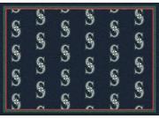 Milliken MI-4000019627 Seattle Mariners 7 ft. 8 x 10 ft. 9 in. Premium Pattern Rug