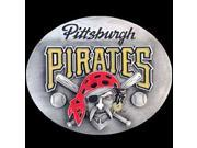 Siskiyou Gifts SBB100 MLB Belt Buckle- Pittsburgh Pirates
