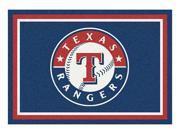 Milliken MI-4000019539 Texas Rangers 5 ft. 4 in. x 7 ft. 8 in. Premium Spirit Rug