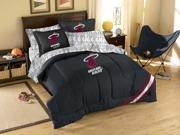 Northwest NW-1NBA881000014RET Miami Heat Full Bed in a Bag