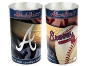 Wincraft CD-1094381045 Atlanta Braves Waste Paper Basket