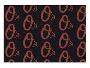 Milliken MI-4000019557 Baltimore Orioles 5 ft. 4 in. x 7 ft. 8 in. Premium Pattern Rug