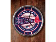 Memory Company MC-MLB-BRS-823 Boston Red Sox Chrome Clock
