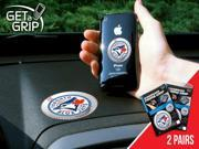 Fanmats 13077 MLB - Toronto Blue Jays Get a Grip 2 Pack